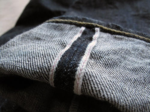 Raw Denim Term - Selvedge Denim