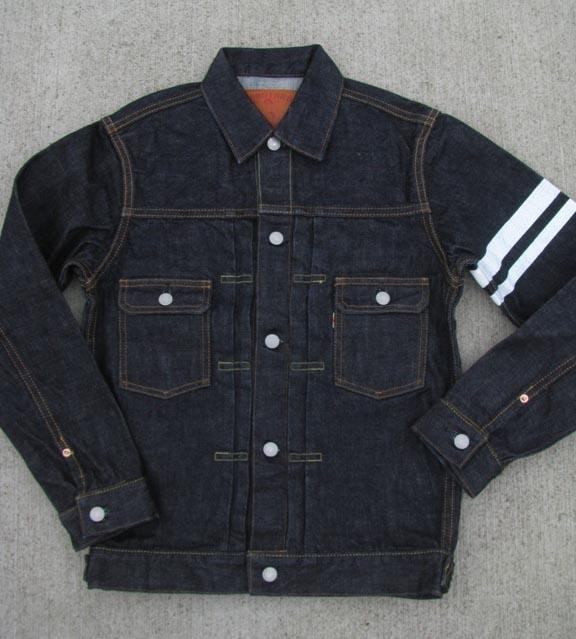 "Momotaro ""Going to Battle"" 15.7oz Denim Jacket - Model 2105SP"