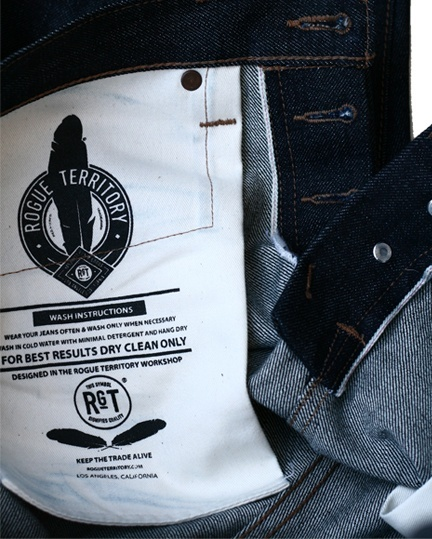 Rogue Territory Stanton Raw Denim
