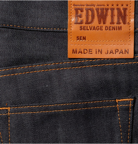 Edwin SEN Selvedge Jeans Patch