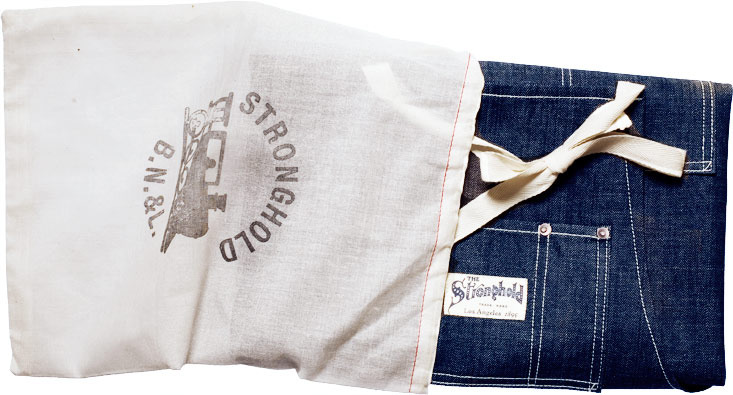 Stronghold Selvedge Raw Denim Apron