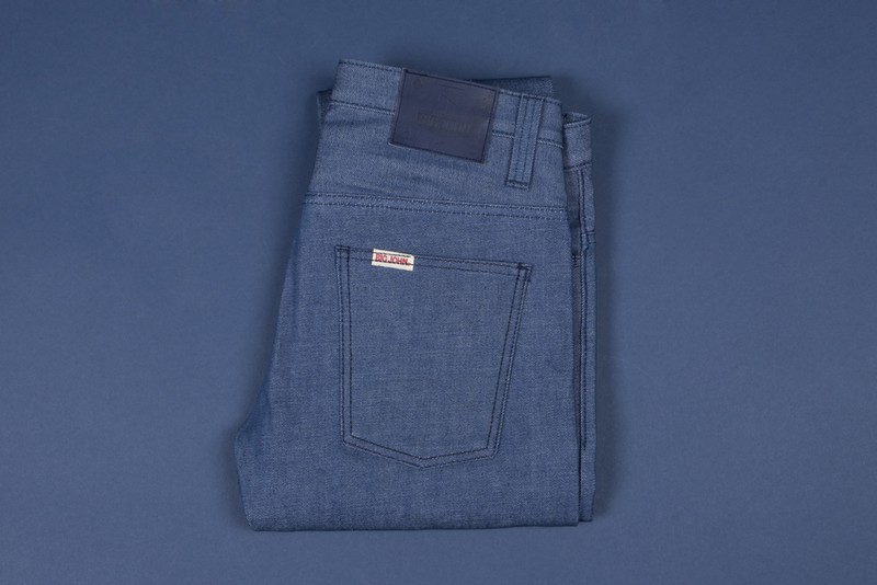 Just Released - Tenue de Nîmes X Big John Natural Blue Raw Denim
