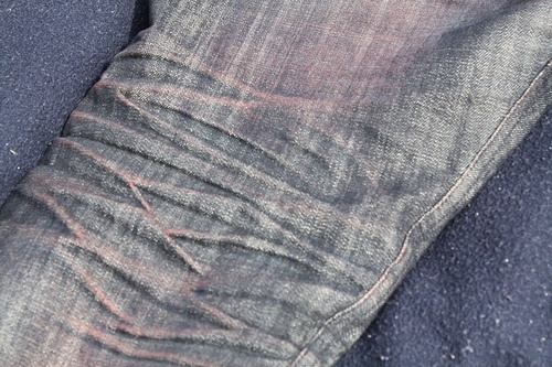 Fade Friday - Naked & Famous Red Core Selvedge Raw Denim
