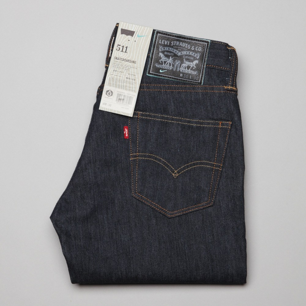 Levi's x Nike 511 Skateboarding Jeans - Just Released