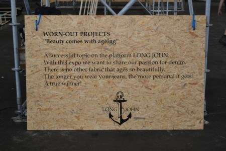 LONG JOHN Worn-Out Projects - Raw Denim Event