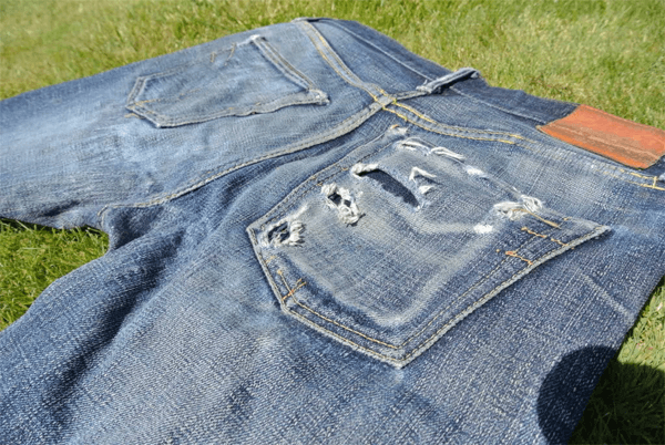 Pocket Details - Strike Gold 1105 (2 Years, 13 Washes)