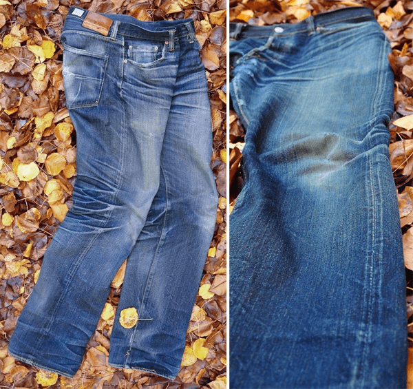Side and Closeup - Eternal 811 (2 Years, No Washes)