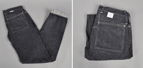 "Tender Co. Type 130 ""Unborn"" Raw Denim Jeans"
