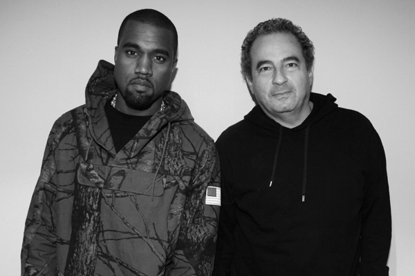 Kanye West, Jean Touitou (source: G.O.O.D. Music)