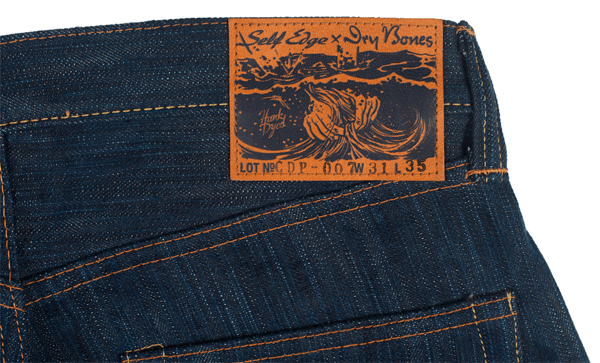 Self Edge x Dry Bones Natural Indigo Hank Dyed Jeans (SEXDB19)