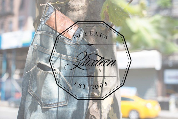 3sixteen Decade Collection - Commemorative Denim, Exclusive Interview
