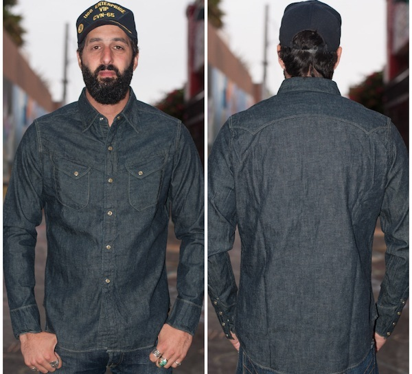Stevenson Buck Jones Denim Shirt