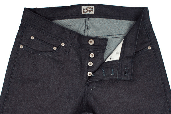 Front - Naked & Famous Scratch-n-Sniff Mint Denim