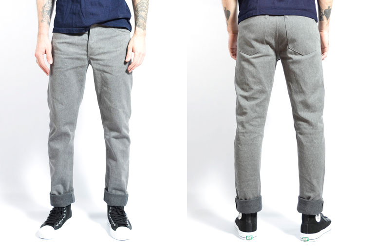 Left-Field-NYC-Collect-Dark-Heather-Grey-Front-Back-Fit