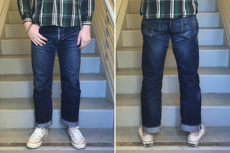 Fade of the Day - The Flat Head 3005 (1 Year, 6 Months, ~25 Washes)</a>