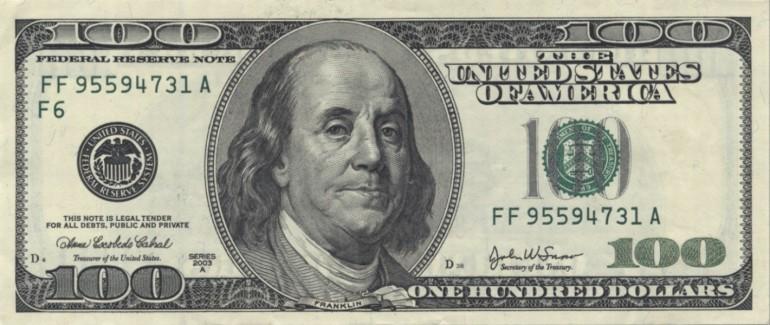 $1 x 100