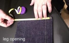 Heddels Definitions - Leg Opening