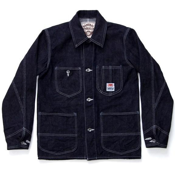 Samurai Jeans Jacket - 18oz. Texas Cotton LHT Denim S10CVJ-L