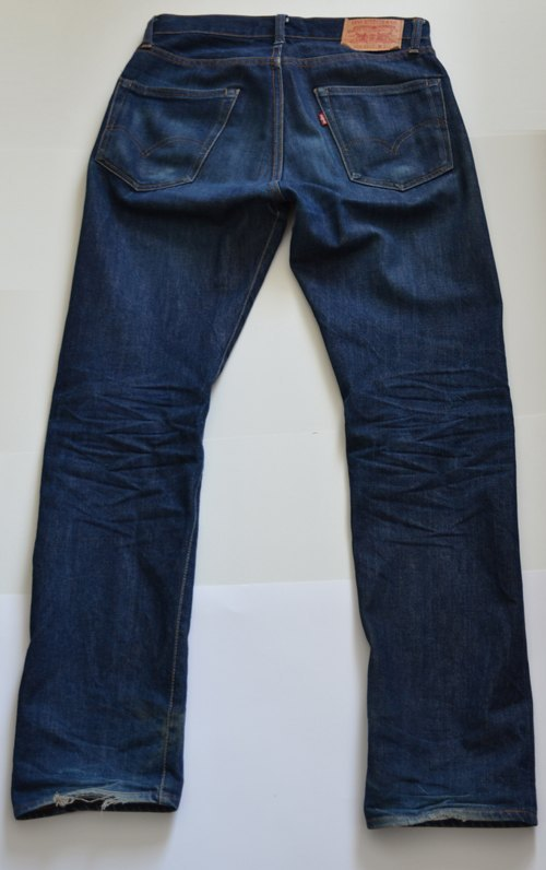 LVC 1967 505-0217 Raw Denim
