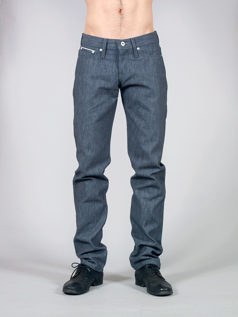 Naked & Famous Glow In The Dark Raw Denim