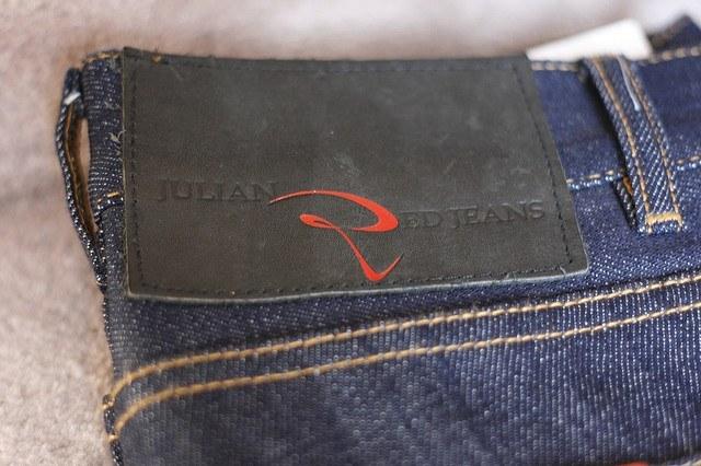 Julian Red California Jeans Raw Denim