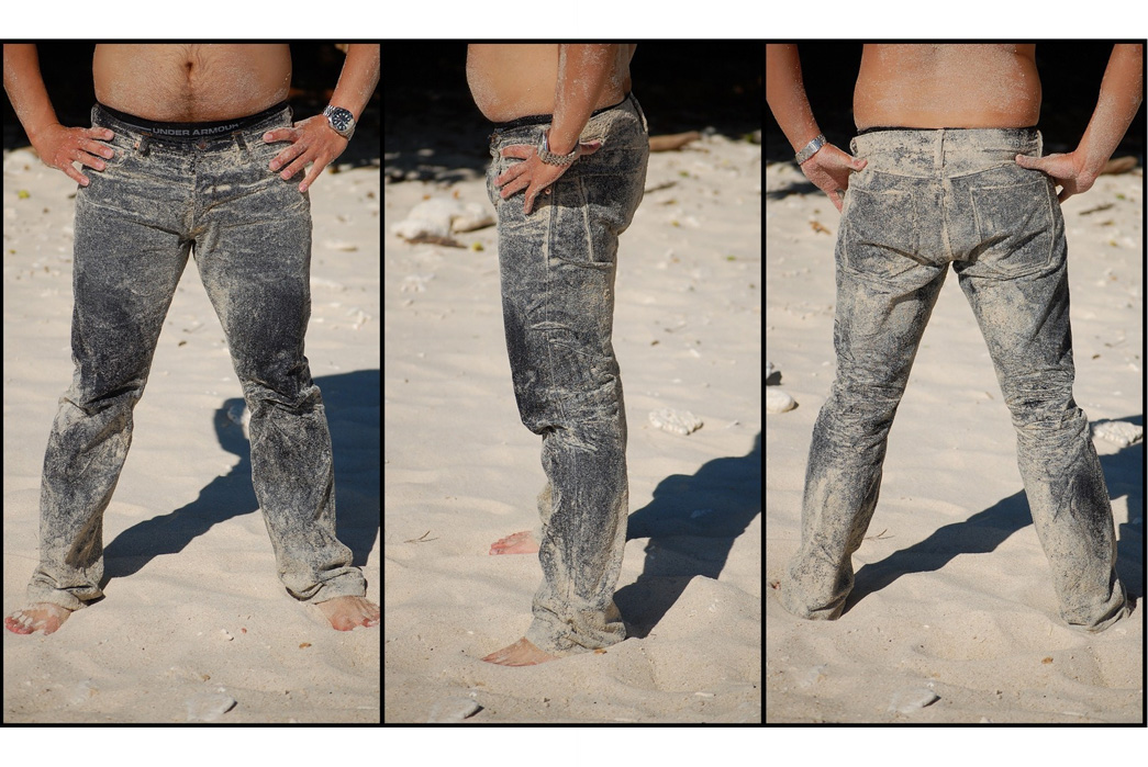 raw-denim-jeans-ocean-wash-the-definitive-guide-tackling-the-waves-after-rubbing-the-jeans-with-the-sand