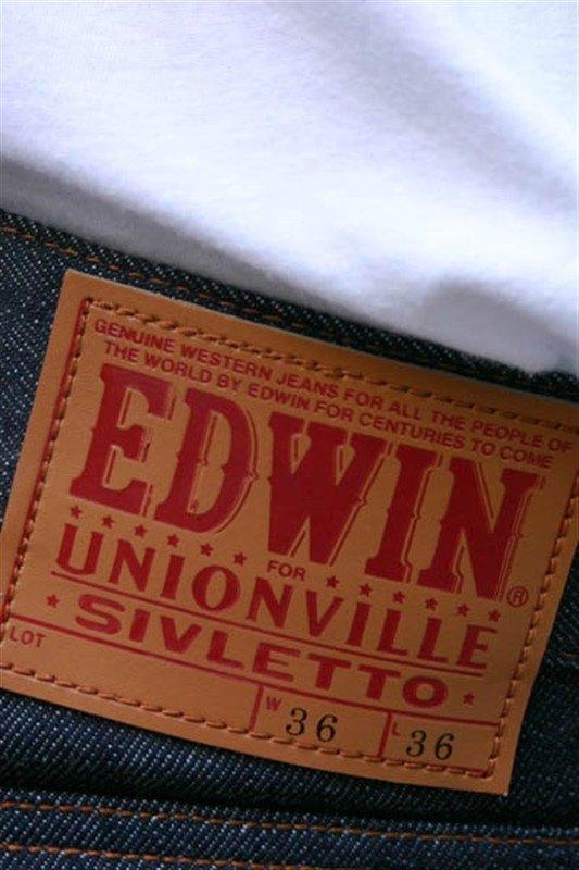 Recent Raw Denim Collaboration - Edwin x Sivletto x Unionville