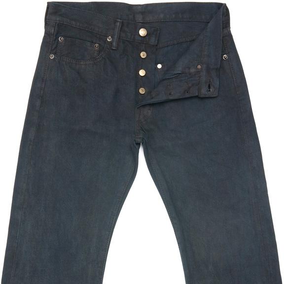 Sunrise Japan's Mud & Indigo Dyed Jeans