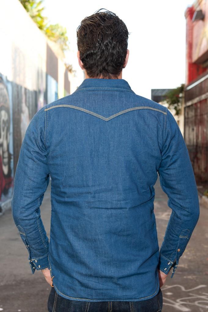 Ironheart Blanket Lined 8oz Denim Overshirt