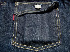 Flat Head 6002W Chest Pocket with Zippo