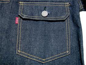 Flat Head 6002W Chest Pocket