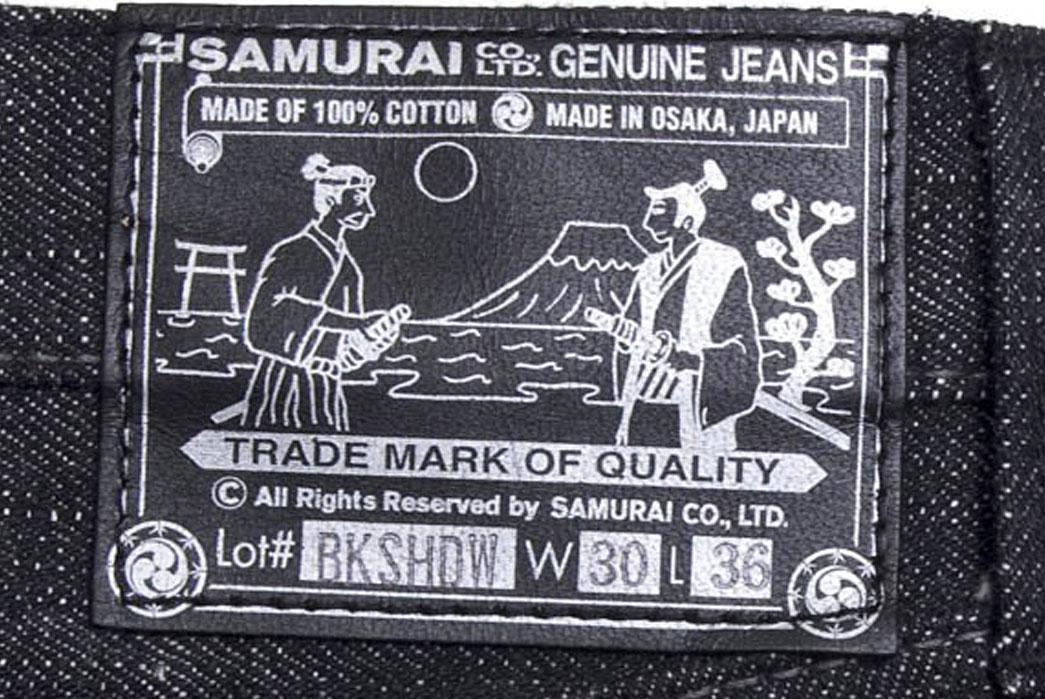 Samurai-S710BK-Black-Shadow-Raw-Denim-Just-Released