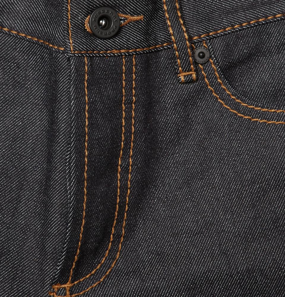 Burberry Prorsum Slim-Fit Raw Denim Jeans
