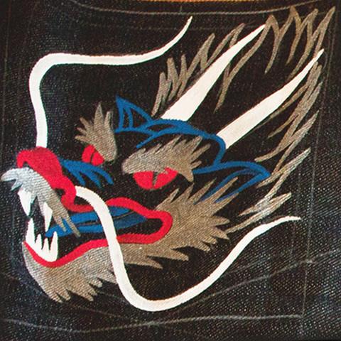 Ryu Jeans - Year of Dragon by Evisu