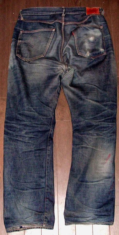 Denim Project D00XX Raw Denim Jeans