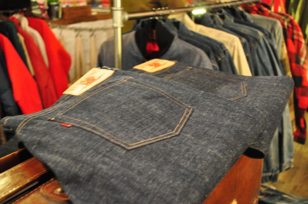 Workware Heritage Clothing Raw Denim