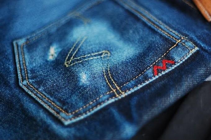 Iron-Heart 634S - Rear Pocket Faded
