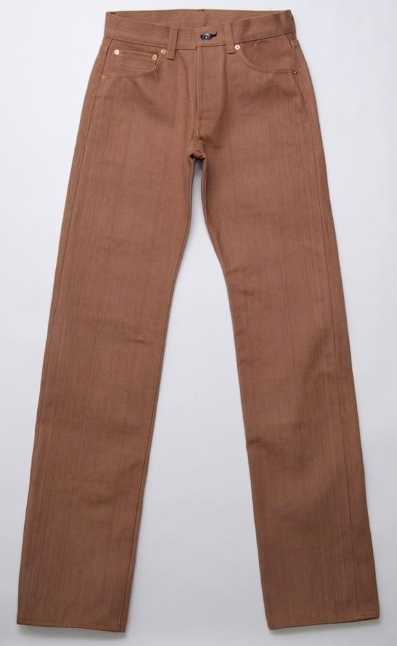 Samurai Jeans 24oz S5000KA Kakishibu Dyed