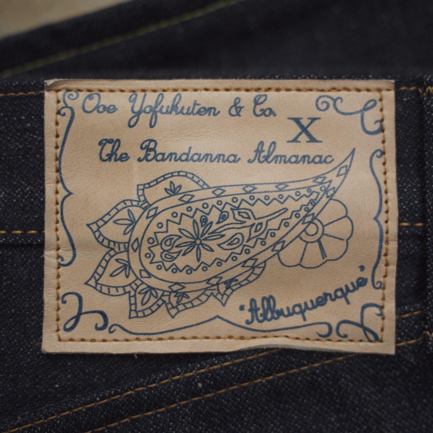 """Ooe Yofukuten X The Bandanna Almanac – The """"Albuquerque"""" Project"""