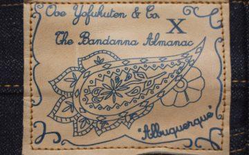ooe-yofukuten-x-the-bandanna-almanac-the-albuquerque-project-label