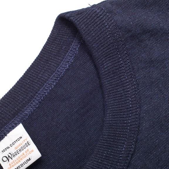 Warehouse T-Shirt - Indigo Rope Dyed Pocket Tee