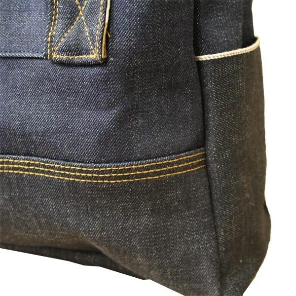 Railcar Fine Goods Raw Denim Utility Tote Bag - Just Released