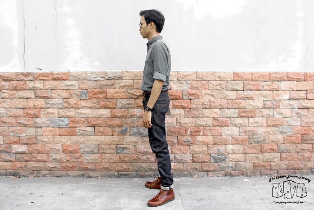 cheese-denim-malaysian-raw-jeans-model-side