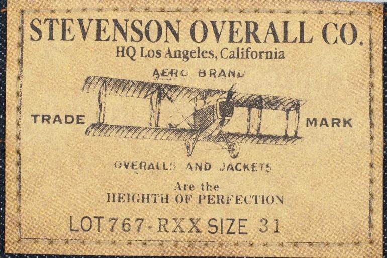 California Raw Denim - Stevenson Overall's Santa Rosa Jeans