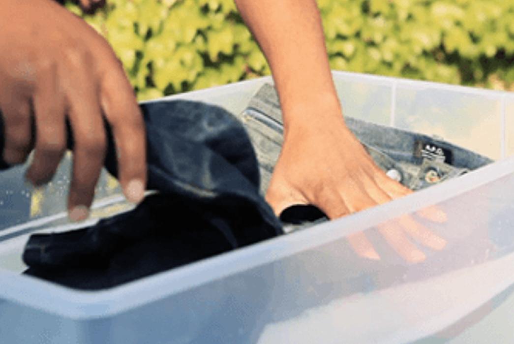 Three Ways To Wash Or Soak Your Raw Denim Without A Bathtub