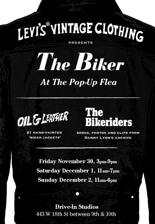 LVC The Biker Poster