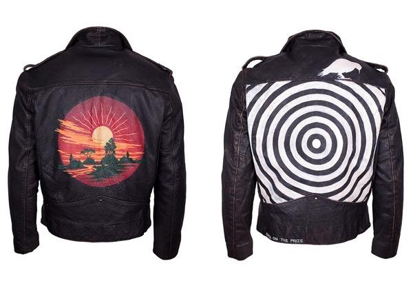 Biker Jackets With Custom Prints