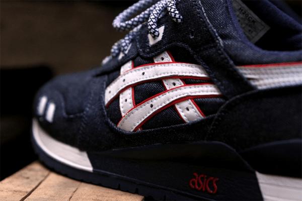 Ronnie Feig x Asics Gel Lyte III Selvedge Denim Sneaker