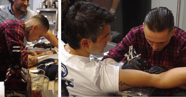 Tattoo meets Beretta Jeans