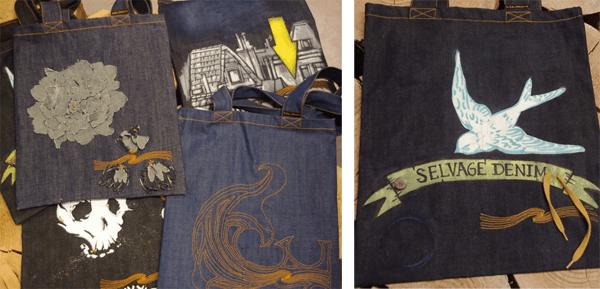 Denim Totes at Beretta Jeans
